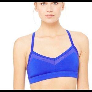 Alo Yoga | Becks Royal Blue Bra